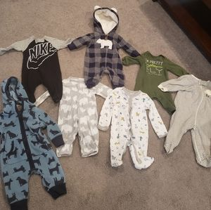 Baby Boy Playsuit Bundle